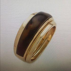 ISO ****Micheal Kors Tortoise Ring. Size 7.5/8